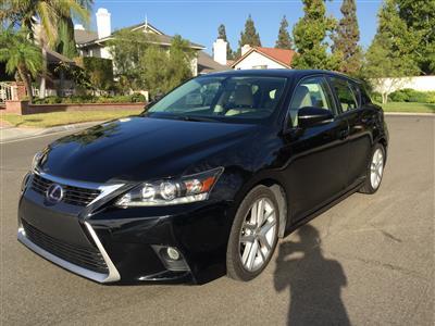 2014 Lexus CT 200h lease in Yorba Linda,CA - Swapalease.com