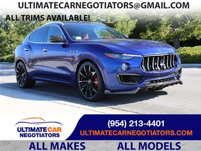2019 Maserati Levante lease in Fort Lauderdale,FL - Swapalease.com