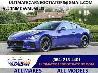 2018 Maserati GranTurismo lease in Fort Lauderdale,FL - Swapalease.com