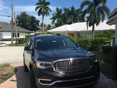2017 GMC Acadia lease in Lighthouse point,FL - Swapalease.com