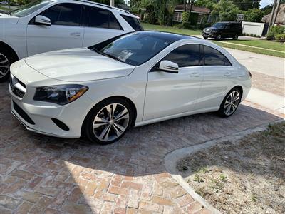 2017 Mercedes-Benz CLA Coupe lease in Miami,FL - Swapalease.com
