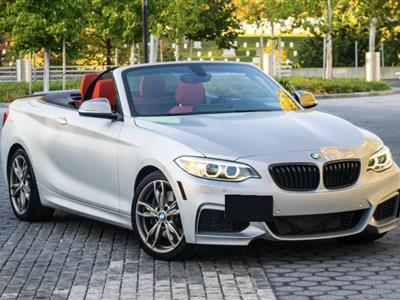 2017 BMW 2 Series lease in Bethesda,MD - Swapalease.com