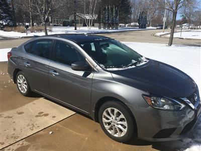 2018 Nissan Sentra lease in Port Washington,WI - Swapalease.com