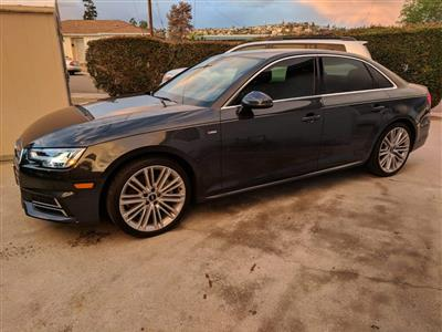 2018 Audi A4 lease in San Diego,CA - Swapalease.com