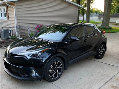 2018 Toyota C-HR lease in Elyria,OH - Swapalease.com