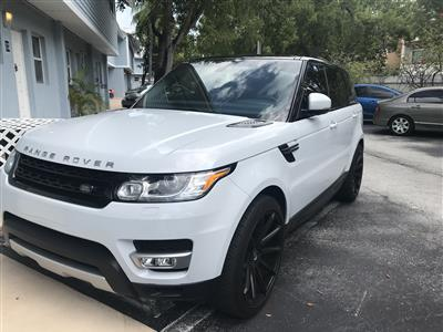 2015 Land Rover Range Rover Sport lease in Key Biscayne,FL - Swapalease.com