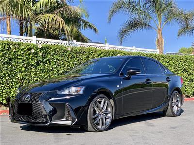 2017 Lexus IS 200t F Sport lease in Garden Grove,CA - Swapalease.com
