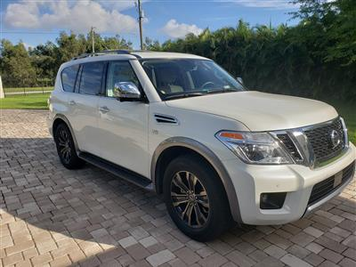 2018 Nissan Armada lease in Cooper City,FL - Swapalease.com