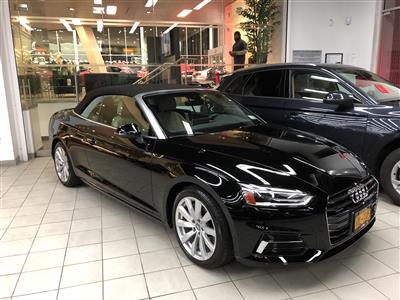 2018 Audi A5 Cabriolet lease in Brooklyn,NY - Swapalease.com