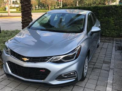2018 Chevrolet Cruze lease in Miami,FL - Swapalease.com