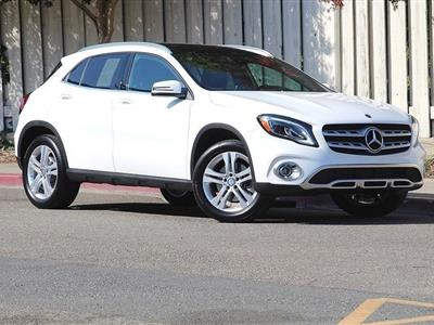 2018 Mercedes-Benz GLA SUV lease in Walnut Creek,CA - Swapalease.com