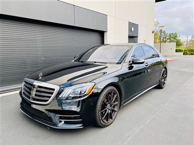 2018 Mercedes-Benz S-Class lease in Irvine,CA - Swapalease.com