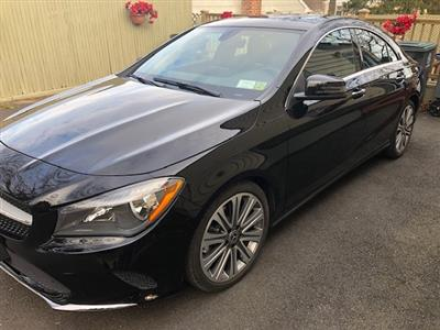 2018 Mercedes-Benz CLA Coupe lease in White Plains,NY - Swapalease.com