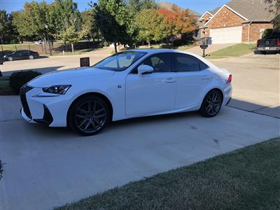 2018 Lexus IS 350 F Sport lease in Fort Worth,TX - Swapalease.com