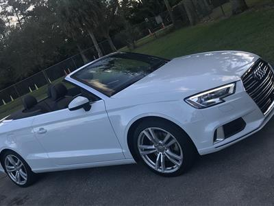 2018 Audi A3 Cabriolet lease in Coconut Creek,FL - Swapalease.com