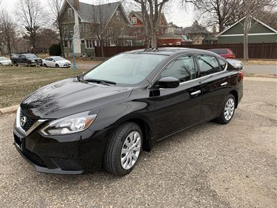 2017 Nissan Sentra lease in St Paul,MN - Swapalease.com
