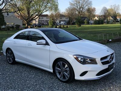 2018 Mercedes-Benz CLA Coupe lease in Morristown,NJ - Swapalease.com