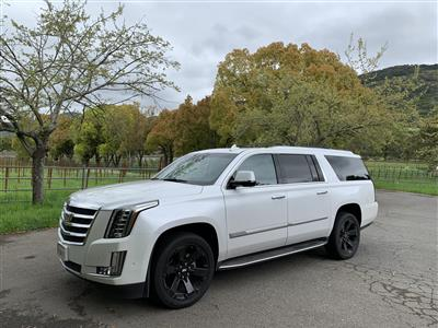 2017 Cadillac Escalade ESV lease in Napa,CA - Swapalease.com