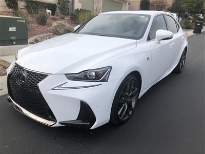 2018 Lexus IS 350 F Sport lease in Las Vegas,NV - Swapalease.com