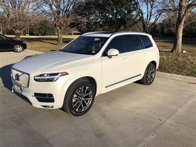 2017 Volvo XC90 lease in Fort Worth,TX - Swapalease.com