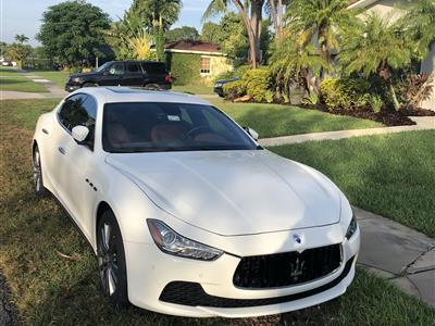 2017 Maserati Ghibli lease in Miami,FL - Swapalease.com