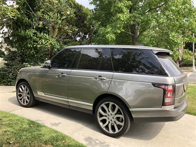 2017 Land Rover Range Rover lease in Los Angeles,CA - Swapalease.com