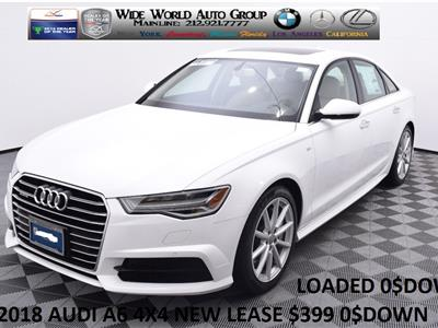2018 Audi A6 lease in New York,NY - Swapalease.com