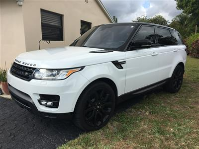 2016 Land Rover Range Rover Sport lease in Del Ray Beach,FL - Swapalease.com