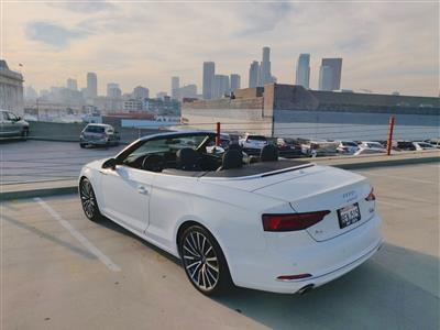 2018 Audi A5 Cabriolet lease in Los Angeles,CA - Swapalease.com