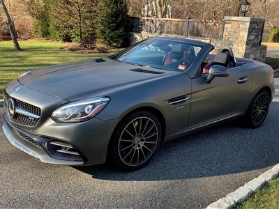 2017 Mercedes-Benz SLC Roadster lease in Westport,CT - Swapalease.com