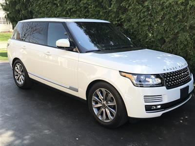 2017 Land Rover Range Rover lease in Stewartville,NJ - Swapalease.com