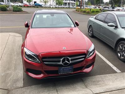2018 Mercedes-Benz C-Class lease in Lake Forest Park,WA - Swapalease.com