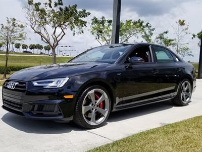 2018 Audi S4 lease in MIAMI,FL - Swapalease.com