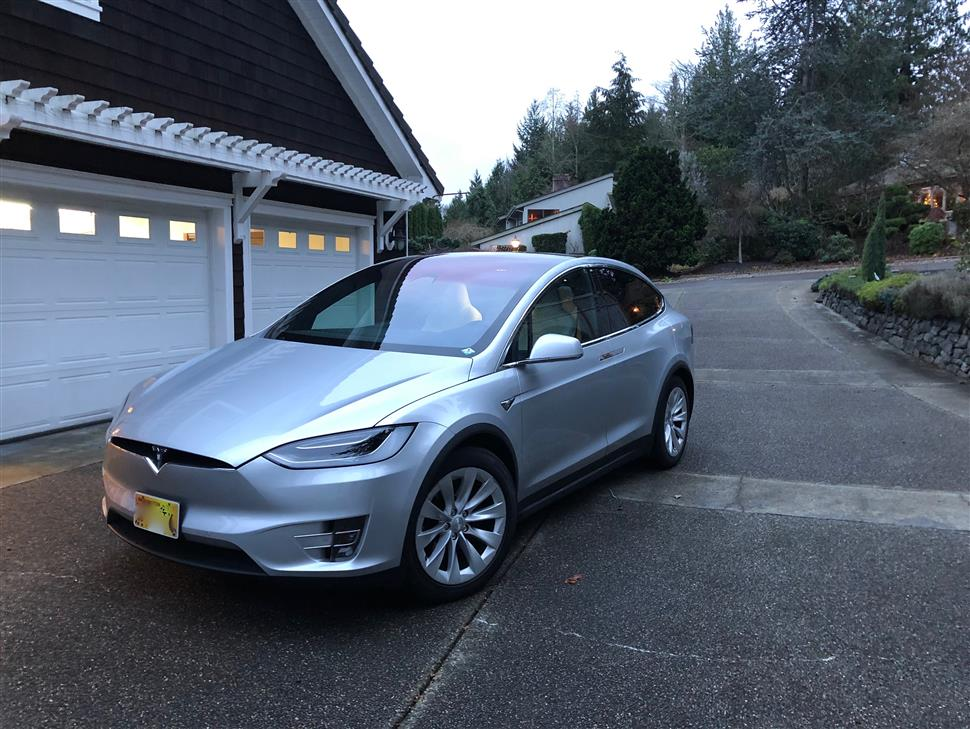 2018 Tesla Model X Lease In Gig Harbor Wa
