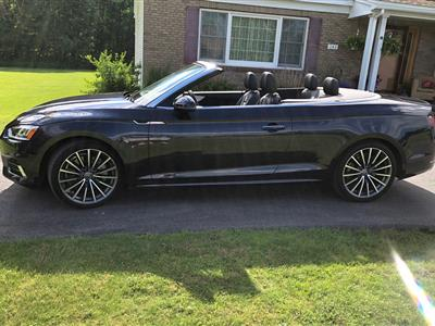 2018 Audi A5 Cabriolet lease in Hagaman,NY - Swapalease.com