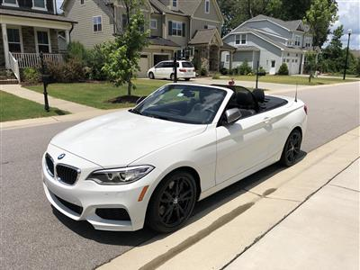 2017 BMW 2 Series lease in Wake Forest,NC - Swapalease.com