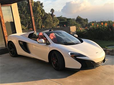 2015 McLaren 650S Spider lease in Lakewood,CA - Swapalease.com