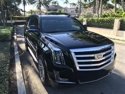 2017 Cadillac Escalade ESV lease in FORT LAUDERDALE,FL - Swapalease.com