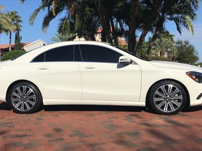 2018 Mercedes-Benz CLA Coupe lease in Tampa,FL - Swapalease.com
