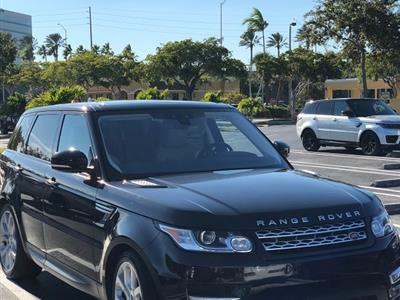 2017 Land Rover Range Rover Sport lease in Aventura,FL - Swapalease.com