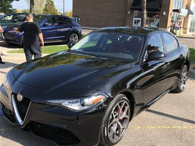 2018 Alfa Romeo Giulia lease in Harrison ,MI - Swapalease.com