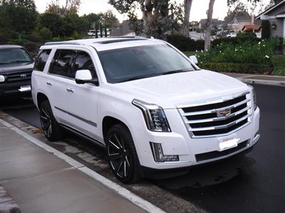 2018 Cadillac Escalade lease in Mission Viejo,CA - Swapalease.com
