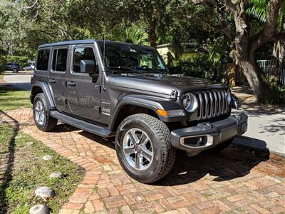 2018 Jeep Wrangler Unlimited lease in Miami,FL - Swapalease.com