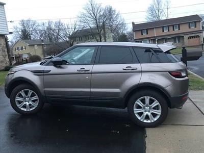 2017 Land Rover Range Rover Evoque lease in BROOKLYNN,NY - Swapalease.com