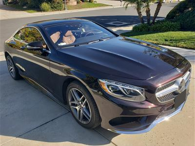 2017 Mercedes-Benz S-Class Coupe lease in Tarzana,CA - Swapalease.com