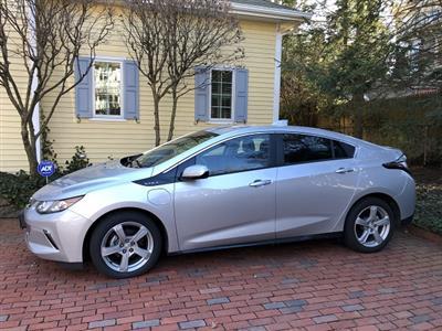 2018 Chevrolet Volt lease in Providence,RI - Swapalease.com