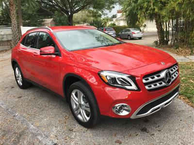 2018 Mercedes-Benz GLA SUV lease in Tampa,FL - Swapalease.com