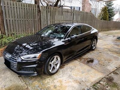 2018 Audi A5 Sportback lease in Spring Lake Heights,NJ - Swapalease.com
