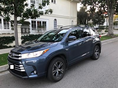 2018 Toyota Highlander lease in Beverly Hills,CA - Swapalease.com