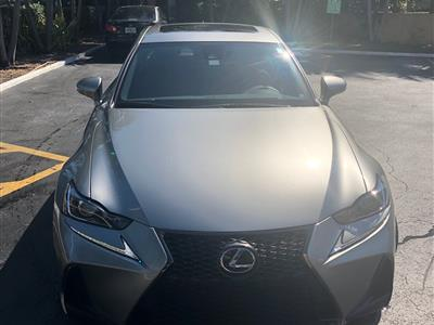 2017 Lexus IS 200t F Sport lease in Miami Beach,FL - Swapalease.com